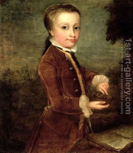 Portrait-Of-Wolfgang-Amadeus-Mozart-$281756-91$29-Aged-Eight,-Holding-A-Bird$27s-Nest