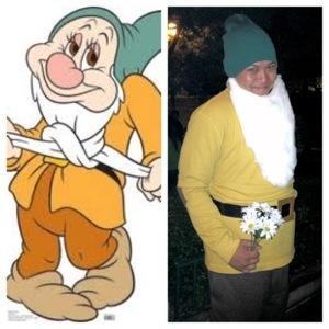 diy 7 dwarfs costumes